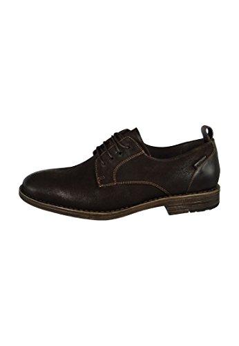 Paniers Levis Chaussures Turlock Régulière Noir 221750-762 Dark Brown