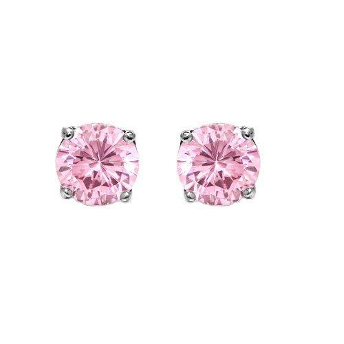 ijewelry2-rosa-orecchini-in-argento-sterling-zirconia-cubica-a-taglio-rotondo-7-mm-2-cassette