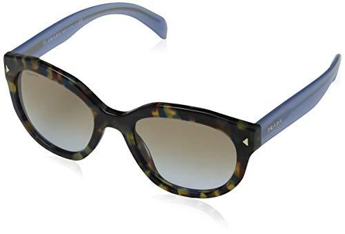 Prada Damen 0PR23QS KAD3M1 53 Sonnenbrille, Weiß (White/Grey)