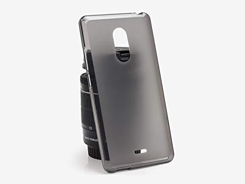 etuo ZTE Blade V580 - Hülle FLEXmat Case - Schwarz - Handyhülle Schutzhülle Etui Case Cover Tasche für Handy