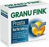 GRANU FINK Prosta forte 500 mg Hartkapseln 80 St by Deutsche Chefaro Pharm