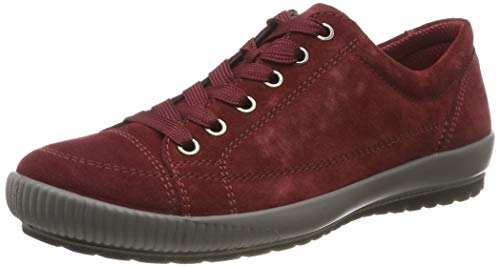 Legero TANARO-Sneaker, Damen Niedrig- Anderes Leder, Rot (Rio Red (Rot) 49), 39 EU (6 UK)