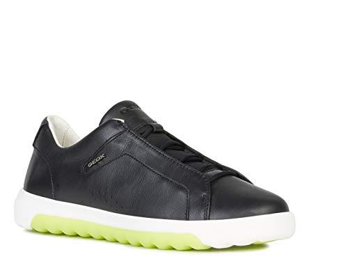 Geox Donna Slipon NEXSIDE, Signora Sneaker,Scarpe Sportive,Scarpe,Sneaker,Pantofole,Elastico,Traspirante,Schwarz,40 EU / 7 UK