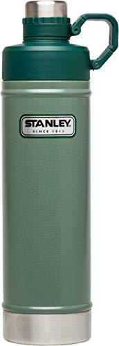 Stanley Classic Vacuum Bottle, Grün Messer, Hammertone Green, One Size -