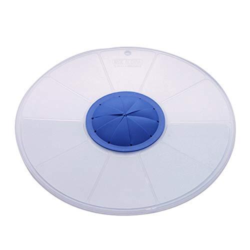 MXECO Schneebesen Splatter Screen Spritzschutz Silikon Schüssel Deckel Schneebesen Deckel Mixer Abdeckung Küchenhelfer Zubehör (klar)