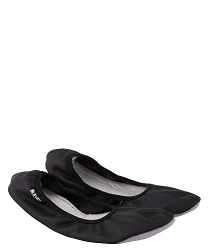 Bleyer Gymnastikschläppchen Ballerina 911 schwarz (200) 37