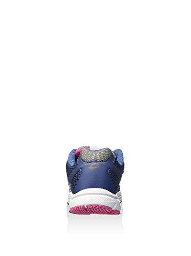 Lotto , Chaussures de Gymnastique femme bleu nuit