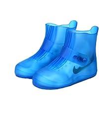 best sneakers 0ccfa fdddf LUCHA - Funda Impermeable para Botas y Zapatos, Reutilizable,  Antideslizante, para Lluvia y Nieve, Plegable, Mujer, Azul, US(Men 5-5.5…
