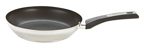 Prestige Durasteel Induction Stainless Steel Frypan, Silver, 30 cm