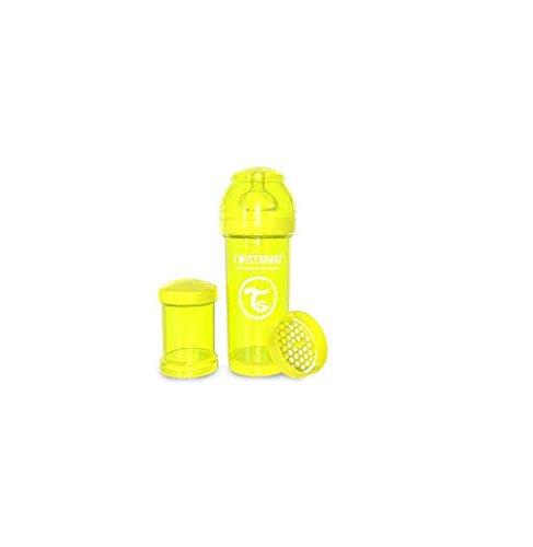 Twistshake 78020 Anti-Colic transparent 2 Monate Plus Flaschensauger Medium