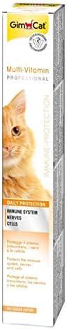 جيمبورن جيم كات مكمل غذائي للقطط يحتوي على الفيتامينات لتقوية دفاعات الجسم ، 100 غ