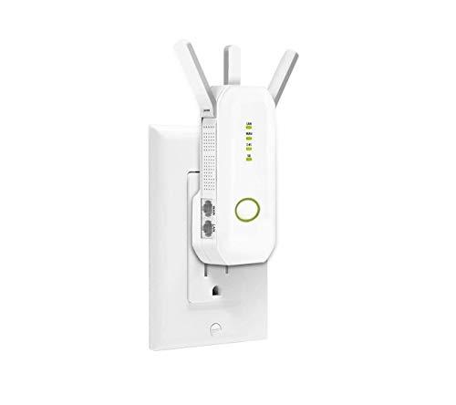YUNJIN AC750 Dualband WLAN AC+N Repeater, 750 Mbit/s, WPS, Deutsche Firmware, WLAN Verstärker, 2 Ports, WPS, AP Modus, Kompatibel zu Allen gängigen WLAN-Routern, weiß (RE750)