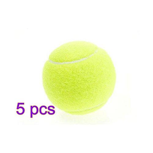 Tennisbälle Tennis Balls Professionelle Training Tennisbälle Practice Ball Outdoor Sports Spielzeug Tennis Ball für Tennis-Unterricht Praxis Hund Sport Spielen Cricket Hund Spielzeug Ball von Demarkt (5PCS)