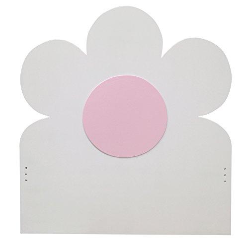 Cabecero infantil. Modelo Flor rosa 90