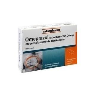 Omeprazol-ratiopharm SK 20mg 14 stk