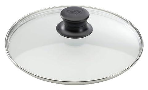 ELO 64133 Glasdeckel / 32 cm / Glas / Edelstahl