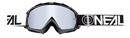O'neal B10 Twoface Goggle Goggle MX DH Brille schwarz/mirror silberfarben Oneal