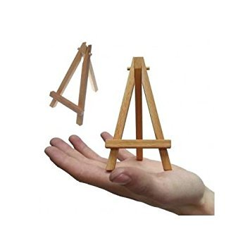 b24aa81fc351 KABEER ART Mini Wood Display Easel Natural Craft Table Stand 15*8cm Set Of  2 Piece