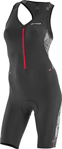 Orca 226 Kompress Race Suit Women Orange-Black Größe S 2019 Triathlon-Bekleidung