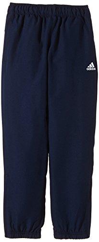 adidas Jungen Trainingshose Essentials Woven Standford Pants CH, Blau/Weiß, 116, AA0677 (Essentials Woven Pants)