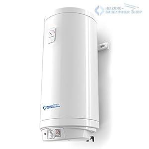80 Liter Warmwasserspeicher Boiler Elektro Speicher Heizung emaillierter Stahlbehälter