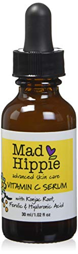 Mad Hippie Skin Care Products, Vitamin C Serum, 8 Actives, 1.02 fl oz (30 ml) (Serum, Vitamin Ferulic E C)