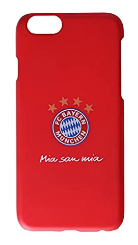 Back Cover FC Bayern München Rot Mia San Mia - iPhone 6 / 6S oder iPhone 7 (iPhone 6 / 6S)