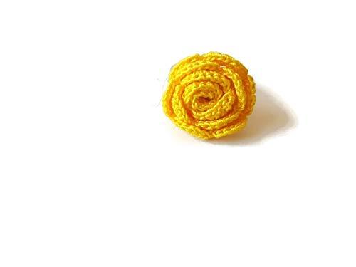 hmuck Geschenk für ihre Mädchen Natur handgemachte Häkelblume Sizilien ()