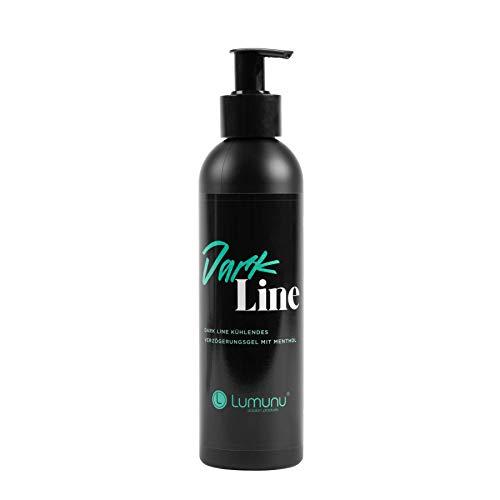 Deluxe Verzögerungsgel DARK LINE, Wasserbasiertes Gleitgel zur Orgasmusverzögerung speziell für Männer & Anal-Sex (250ml)