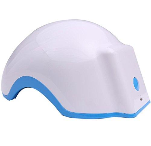 achstum Helm Gerät Technologie Premium Laser Behandlung Haarausfall fördern Nachwachsen Haar Laser Gap Massage Equipment Laser Haar Therapie Stellt Haar Stärke, dichte ()