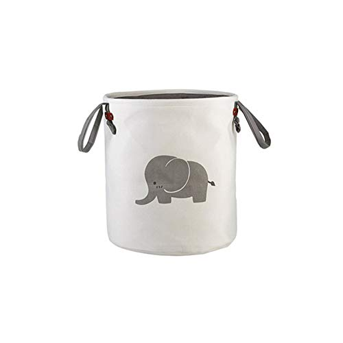 Juguete Almacenamiento Cubo Gris Elefante Yogamada