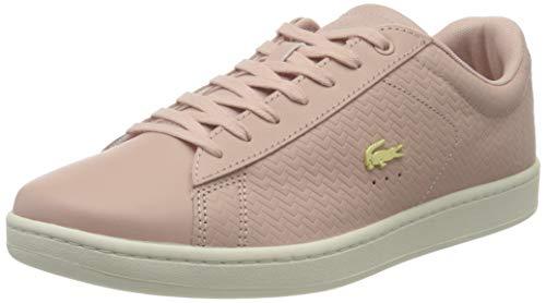 Lacoste Damen Carnaby Evo 119 3 SFA Nat/Off Wht Sneaker Pink Ts2, 42 EU