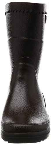 Aigle Bison Damen Halbschaft Gummistiefel Braun (brun 5)