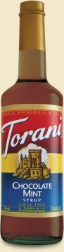 Torani Classic Chocolate Mint 750ml