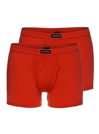 Bruno Banani Herren Pant 2 er Pack 2201-1309 8, Gr. 4 (S), Rot (rot 8)