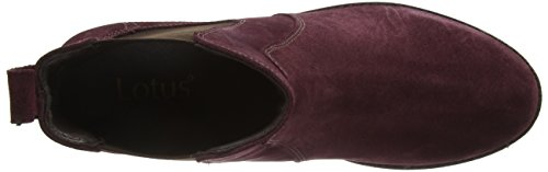Lotus Nydia, Bottes Classiques femme Rouge - Red (Pom Sde)