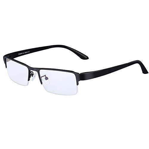DUCO Gamer Brille Computerbrille Blaulicht Blendschutz Anti-Erschöpfung UV Schutzbrille für Smartphone Computer oder Fernseherbildschirm GX090T
