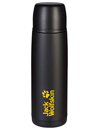 Jack Wolfskin Trinkflasche Thermo Bottle Grip Black 29 x 8,7 cm, 0.9 Liter, 8000331-6000