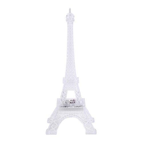 1 pcs 7 Farbe ändern Eiffelturm LED-Nachtlicht Schreibtisch Tisch romantische Stimmung Light Tischleuchte Schlafzimmer Dekoration Verkauf (Verkauf Dekorationen)