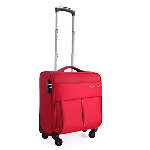 He-Bag 16 Zoll Oxford-Tuch Universal Radkoffer Verschleißfester, atmungsaktiver Trolley Business-Boarding-Mini-Crew-Koffer,D,16inches