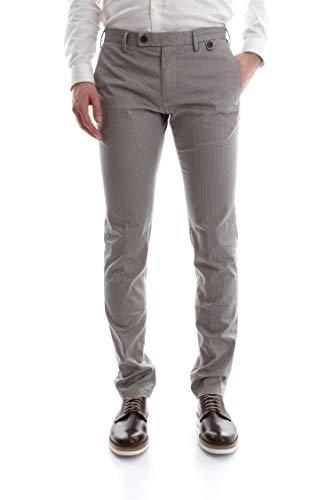 ATIPICO Pantalone Jack 02 Blu-Bianco Fantasia, Blu-Bianco Fantasia, 56
