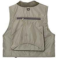 ADream Ligero Bolsillos al Aire Libre Multi Chaleco de Pesca Multifunction Waistcoat Jacket Coat (XXL) (Color : As Shown, tamaño : XXL)