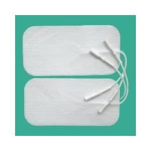8 x ELECTRODE TENS PADS LABOUR MATERNITY, BACK, NECK, SHOULDER PAIN ELECTRODES FOR TENS MACHINE PAIN RELIEF 8 PADS(2 X PACK) LARGE 100 X 50 10 X 5 replacements ELLE, Femme. Lady, Boots, Babi, Obi, Lloyds and Neurotrac