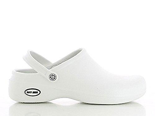 Safety Jogger Azienda azienda Adulto Unisex Zoccoli Bianco - EU 41