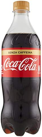 Coca-Cola Senza Caffeina 660 ml - bottiglia PET riciclabile