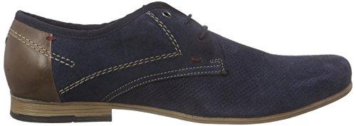 s.Oliver13207 - Scarpe stringate Uomo Blu (Blu (Navy 805))