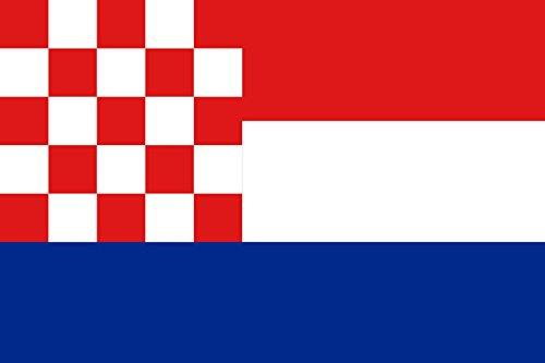 magFlags Flagge: Large Croatia Danas Proposal | Hrvatske Prijedlog iz Danasa | Querformat Fahne | 1.35m² | 90x150cm » Fahne 100% Made in Germany