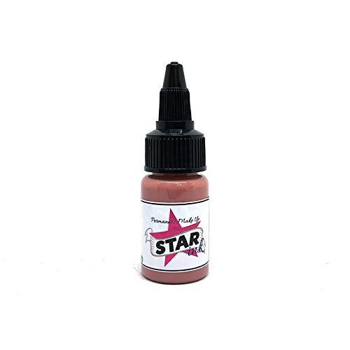 STAINKMAKEUP Natural Lip 0.5oz (30ml) Pigment Augenbrauenpigment für Microblading Permanent Makeup Mikropigment Cosmetic farbe Augenbrauen Lippen Augen VEGAN (Lip Tattoos Kostenloser Versand)