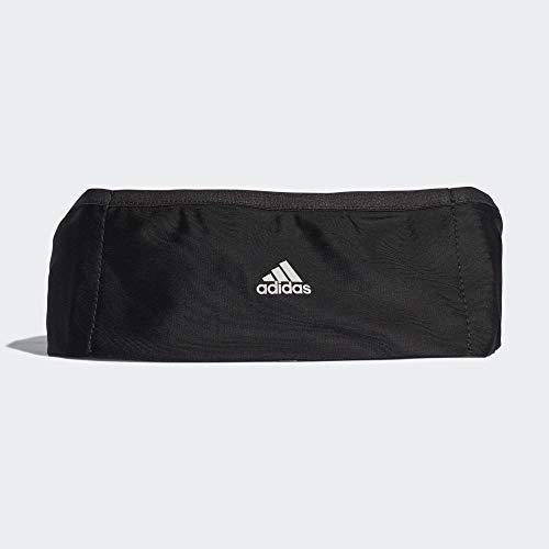 adidas Run Belt Plus, Portafoglio Unisex-Adulto, Nero Negro/Reflec, 17x15x25 Centimeters (W x H x L)