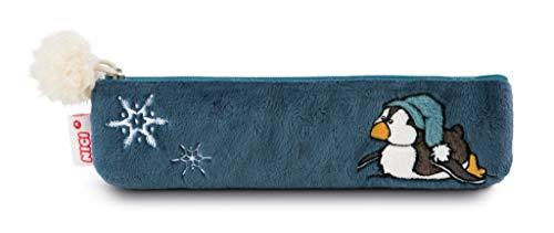 Nici 42049 Winter Stiftemäppchen Pinguin Toddytom, 19,5 x 5 cm, blau Preisvergleich